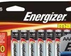 Max Alkaline Batteries Aaa10 or Aa16