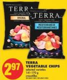 Terra Vegetable Chips - 141-170 g