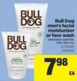 Bull Dog Men's Facial Moisturizer Or Face Wash - 100-150 mL