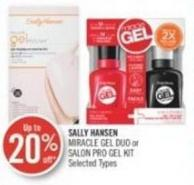 Sally Hansen Miracle Gel Duo or Salon Pro Gel Kit