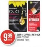 Olia or Express Retouch Hair Colour