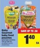 Baby Gourmet Baby Food Pouches - 134 G/128 Ml