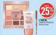 L'oréal Cosmetic Products