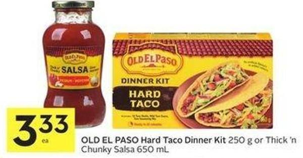 Old El Paso Hard Taco Dinner Kit