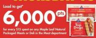 Maple Leaf Natural Packaged Meats Or Deli In The Meat Department