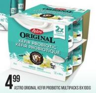 Astro Original Kefir Probiotic Multipacks - 8x100g