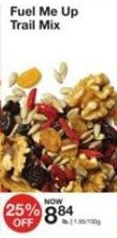 Fuel Me Up Trail Mix