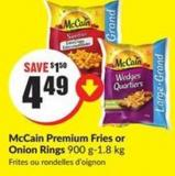 Mccain Premium Fries