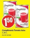 Compliments Tomato Juice