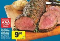Certified Angus Beef Whole Beef Tenderloin