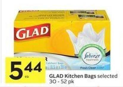 Glad Kitchen Bags