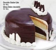 Chocolate Shadow Cake 750 - 900 g