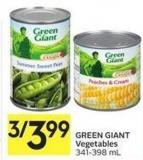 Green Giant Vegetables 341-398 ml