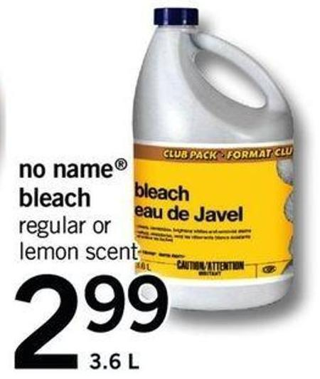 No Name Bleach - 3.6 L