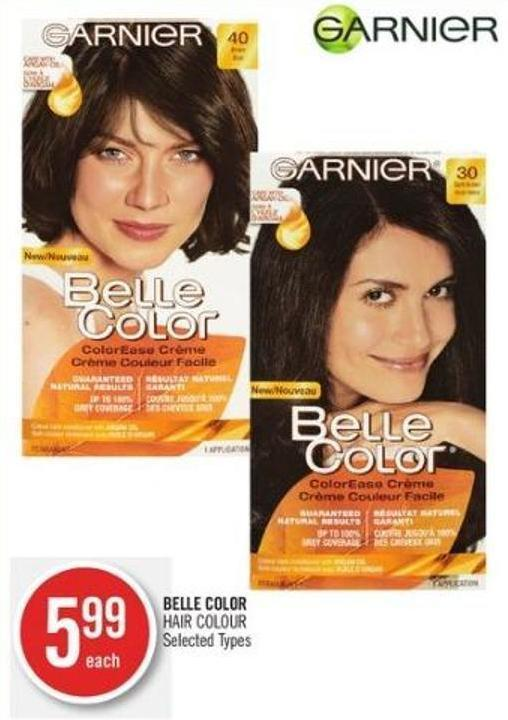 Belle Color Hair Colour