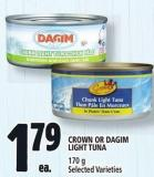 Crown Or Dagim Light Tuna