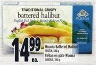 Woonia Battered Halibut