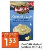 Idahoan Mashed Potatoes