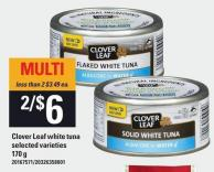 Clover Leaf White Tuna - 170 g