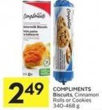 Compliments Biscuits