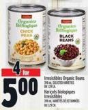 Irresistibles Organic Beans