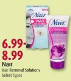 Nair Hair Removal Solutions