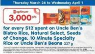 Uncle Ben's Bistro Rice - Natural Select - Seeds Of Change - 10 Minute Specialty Rice Or Uncle Ben's Beans - 227 G