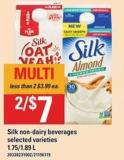 Silk Non-dairy Beverages - 1.75/1.89 L