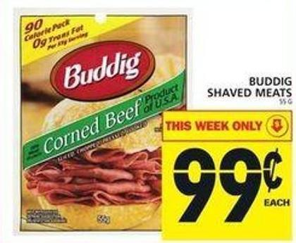Buddig Shaved Meats
