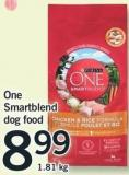 One Smartblend Dog Food - 1.81 Kg