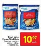 Great Value Frozen Fish Fillets