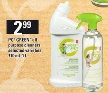 PC Green All Purpose Cleaners -