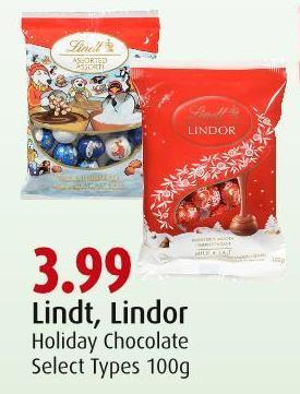 Lindt - Lindor Holiday Chocolate