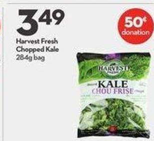 Harvest Fresh Chopped Kale