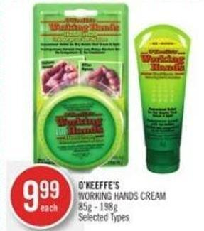 O'keeffe's Working Hands Cream 85g - 198g