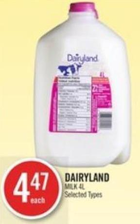 Dairyland Milk