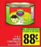 Y & Y Water Chestnuts
