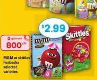 M&M Or Skittles Funbooks