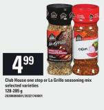 Club House One Step Or La Grille Seasoning Mix - 128-285 g