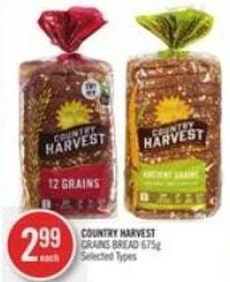 Country Harvest Grains Bread 675g