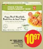PC Free From Meatballs - 850-907g