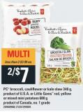 PC Broccoli - Cauliflower Or Kale Slaw 340 G - Or Little Gems Red - Yellow Or Mixed Mini Potatoes 680 G