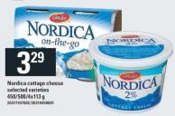 Nordica Cottage Cheese - 450/500/4x113 g