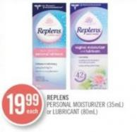 Personal Moisturizer (35ml) or Lubricant (80ml)