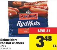 Schneiders Red Hot Wieners - 375 g