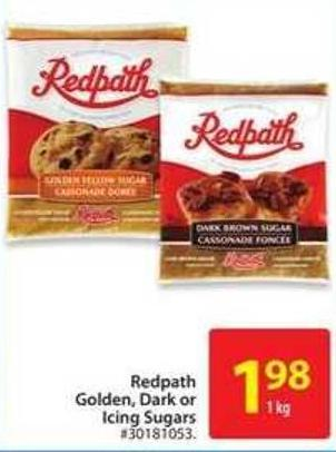 Redpath Golden - Dark or Icing Sugars