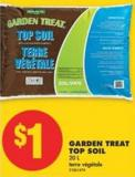 Garden Treat Top Soil - 20 L
