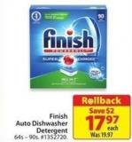 Finish Auto Dishwasher Detergent