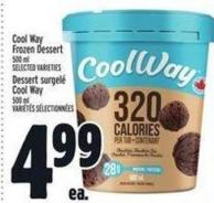 Cool Way Frozen Dessert