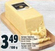 Agropur Signature Grand Cheddar 3 Years